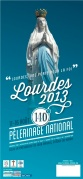 affiche du Pèlerinage National 2013