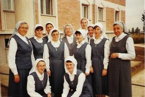 Sr Georgette en Roumanie